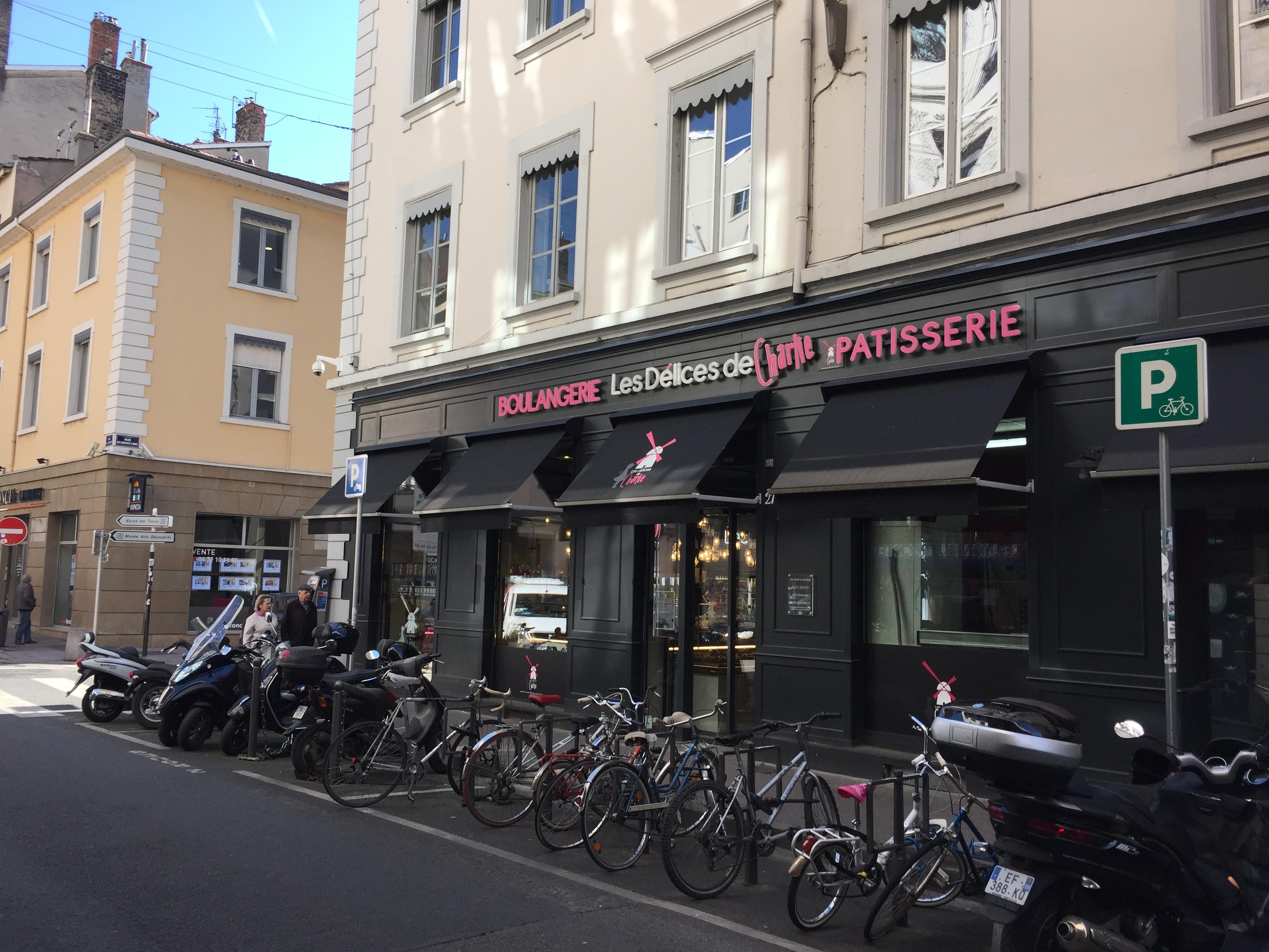 Pâtisserie Rue de la Charité