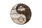 Clouds And Thorns Circle Wood Logo.png