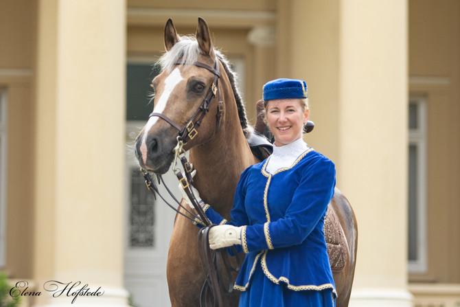 Shooting mit Elena Hofstede auf Schloss Bredeneek