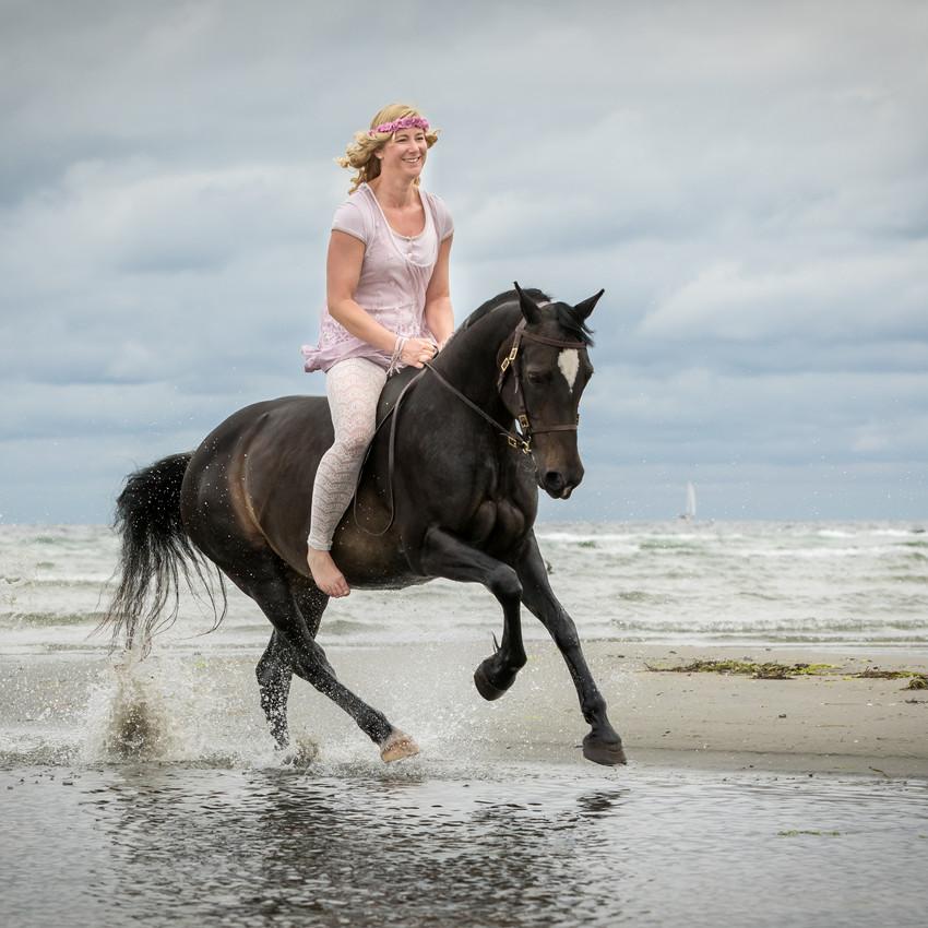 Andrea mit Pferden-20