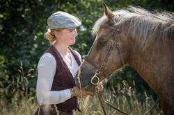 Andrea mit Pferden-93