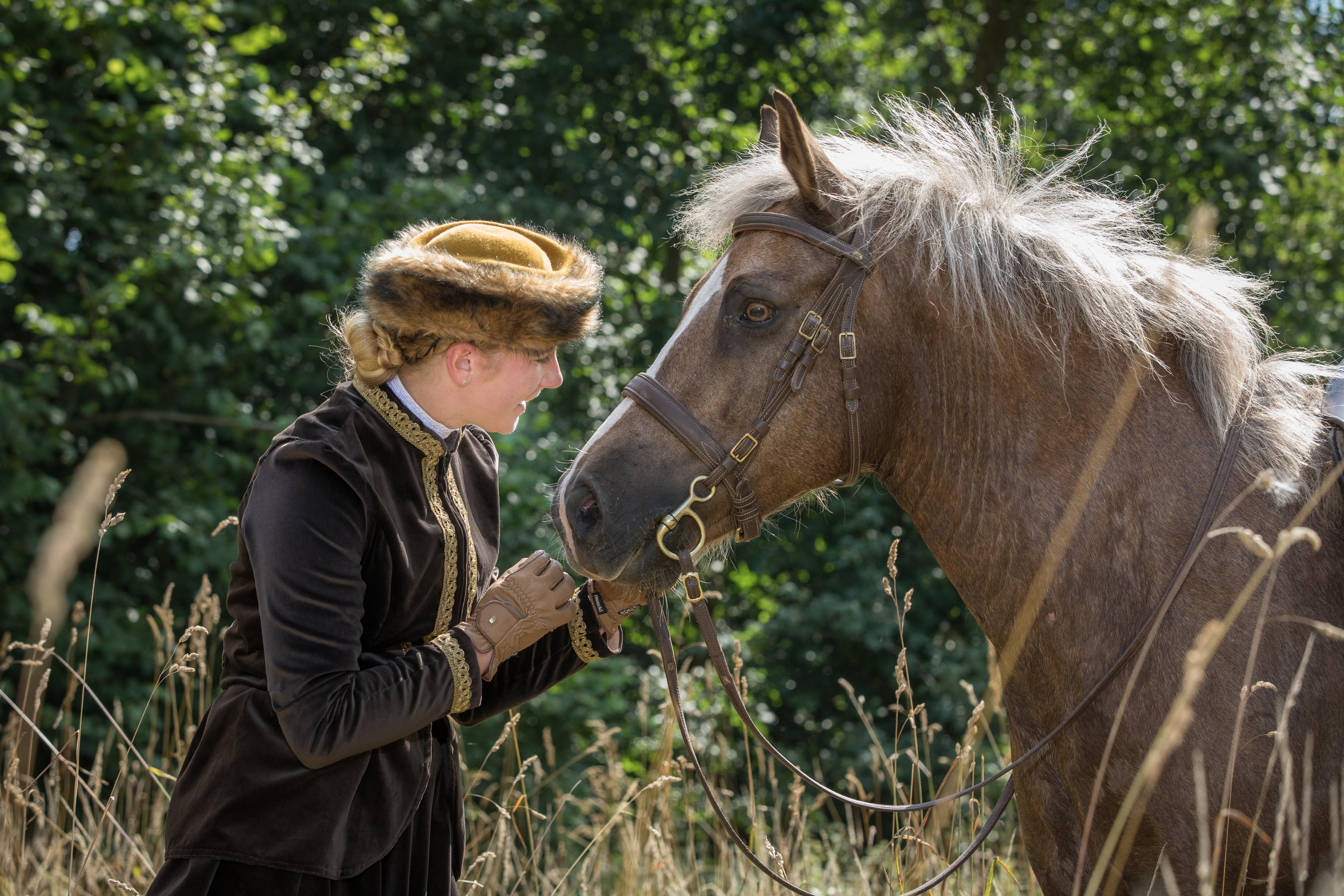 Andrea mit Pferden-89