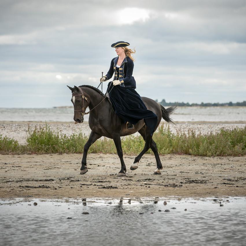 Andrea mit Pferden-5