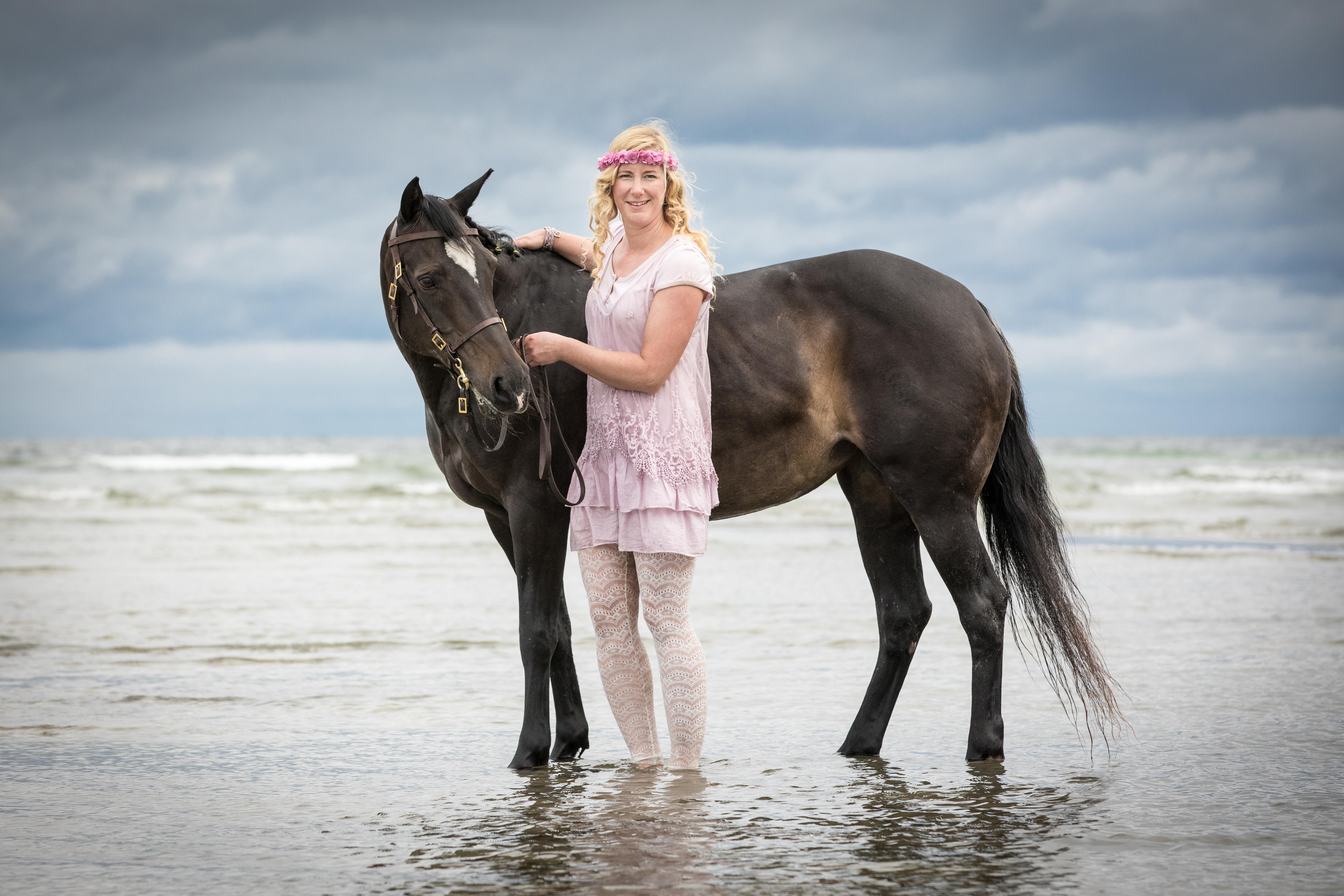Andrea mit Pferden-28