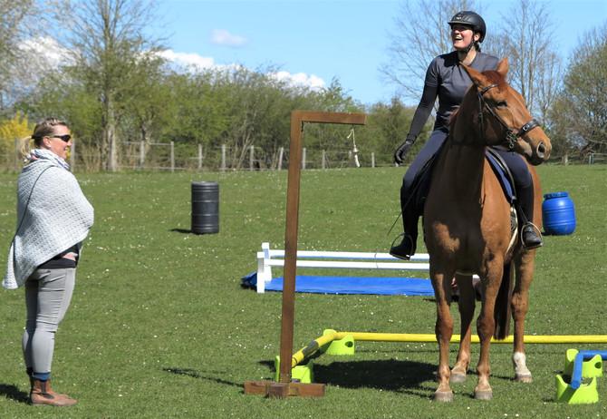 Erster Working Equitation Trainingstag mit Judith Richter