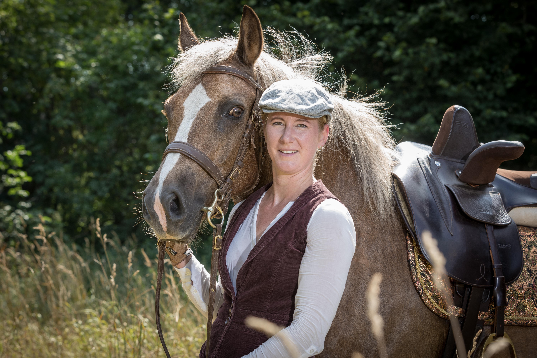 Andrea mit Pferden-91