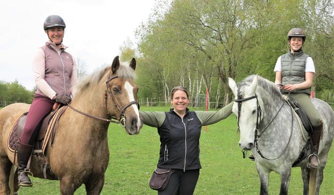 Working Equitation Trail Training mit Inken Manz