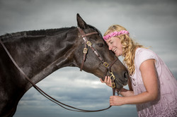 Andrea mit Pferden-10