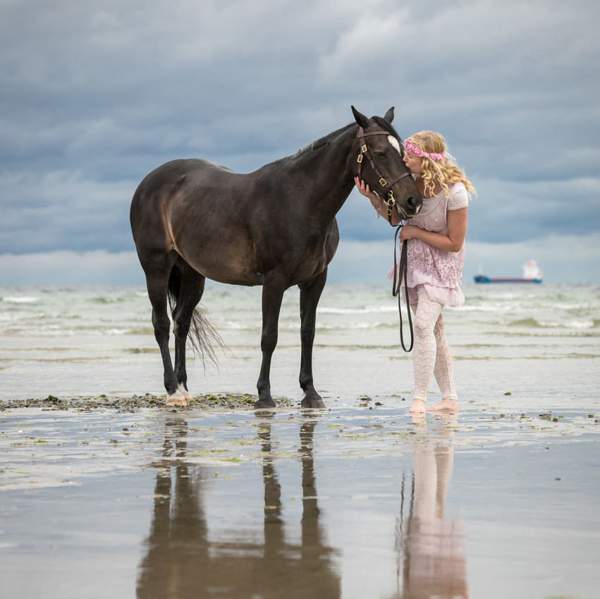 Andrea mit Pferden-30