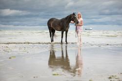 Andrea mit Pferden-29