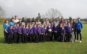 Colchester United go back to school!