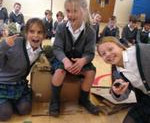 Ripley Court School take on the Slum Lesson!