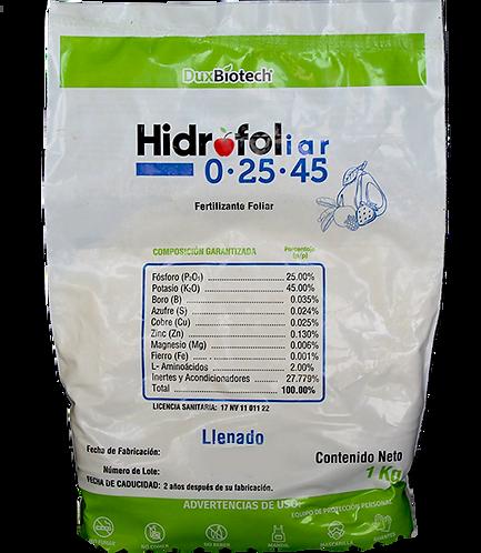 HIDROFOL 0-25-45 1KG