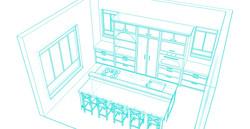 island kitchen sketch6