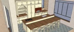 island kitchen sketch5