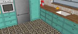 L kitchen sketc3