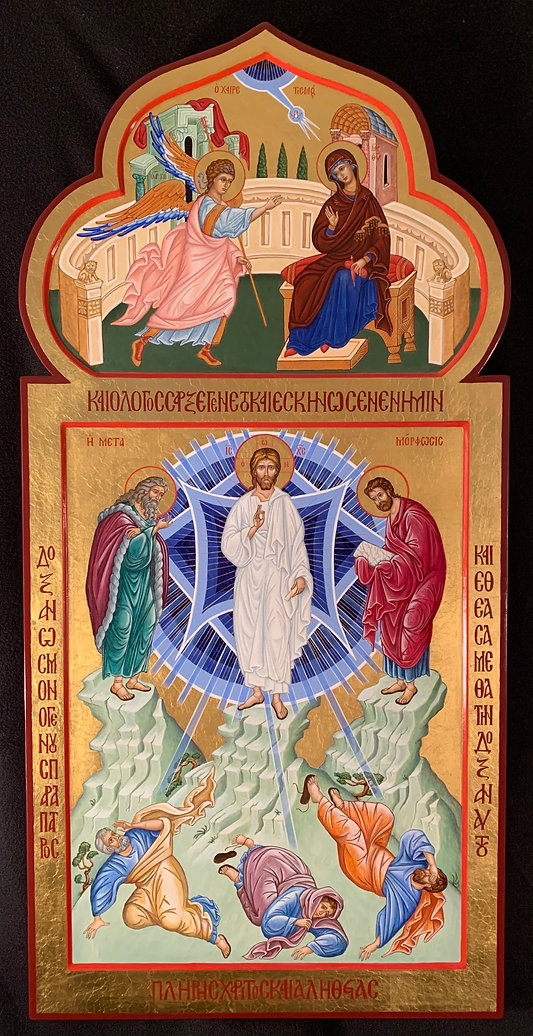 Annunciation and Transfiguration icon IMG_1170.jpg