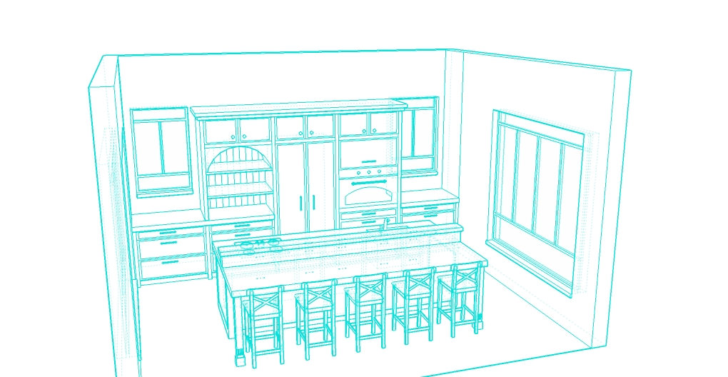 island kitchen sketch5