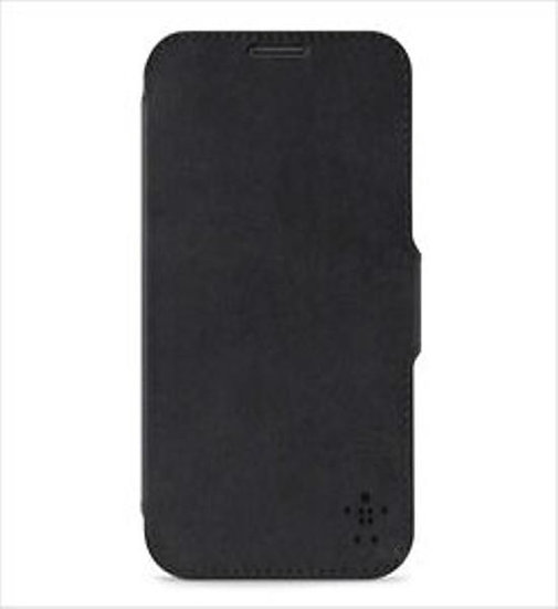 Belkin Premium Leather Folio For Samsung Galaxy Note 2 In Black