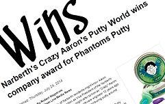 Crazy Aaron's Thinking Putty İnovasyon Ödülü