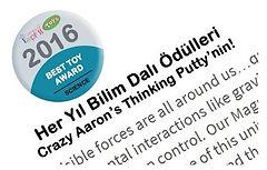 Crazy Aaron's Thinking Putty Bilim Dalı Ödülü