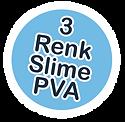 slime yap bilim seti 3 renk slime pva