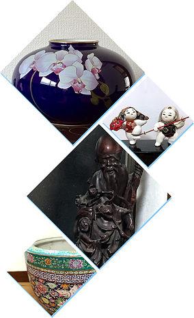 ゲストハウス内の骨董品
