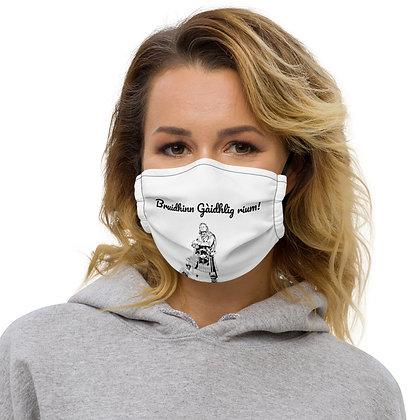 Premium face mask - Bruidhinn Gàidhlig Rium