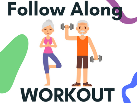 Follow-Along Workout (No Equipment!)