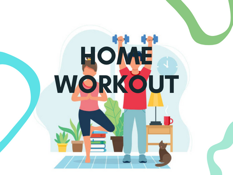 Home Workout (No equipment needed!)