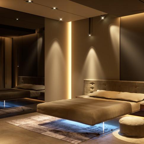 """#Architettura e #Design degli interni: """"progetto per una camera da letto in Stile Moderno""""."""