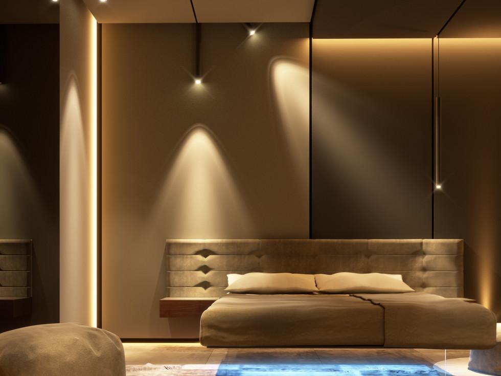 progetto camera da letto a Catania