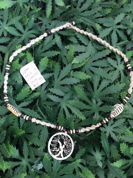 Tree Hemp Necklace