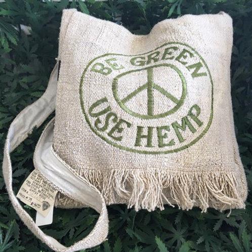 Be Green Hemp Crossbody Purse