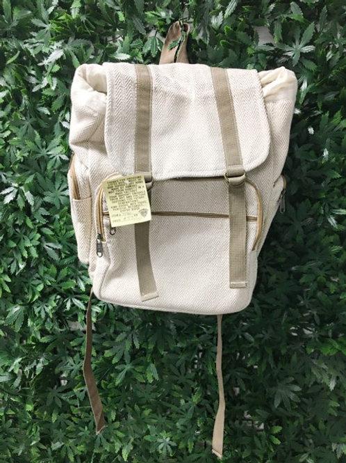 Striped Hemp Backpack