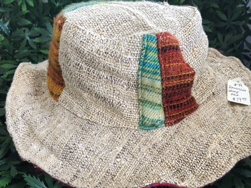 Reversible Hemp Hat