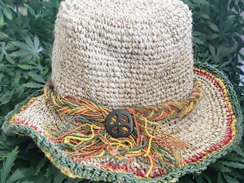Peace Hemp Hat