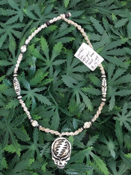 Grateful Dead Hemp Necklace