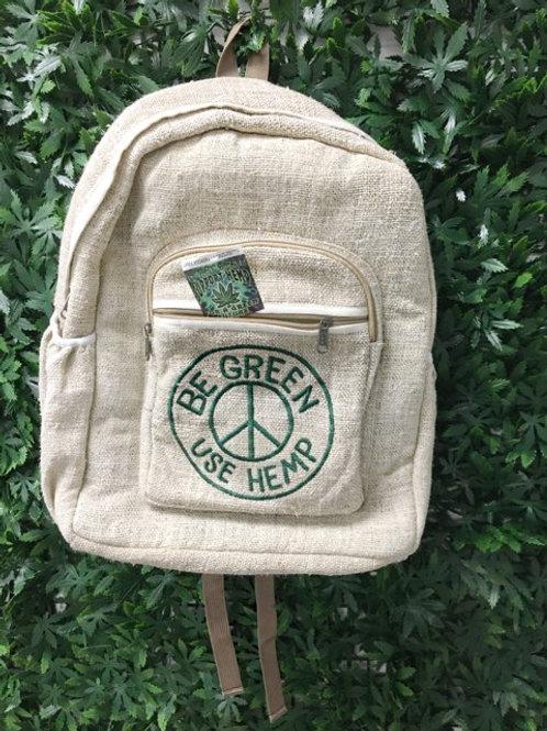 Be Green Hemp Backpack