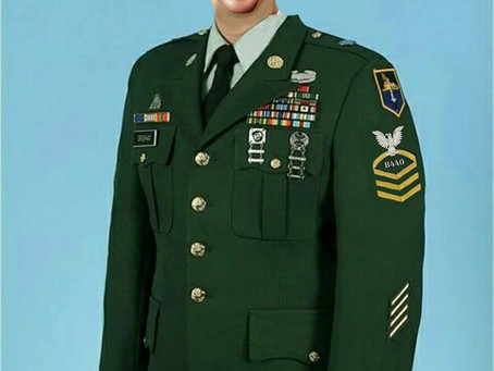 The new Water Army dress uniform...