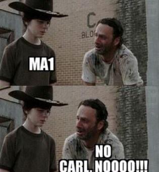 Don't do it, Carl!