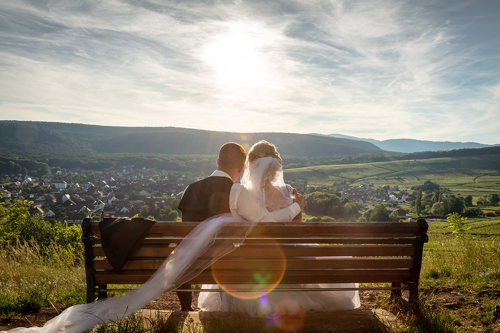 photo de couple mariage 2019 Virginie et Benjamin