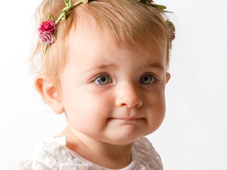 Portrait enfant : Alizée pour ses 1 an !