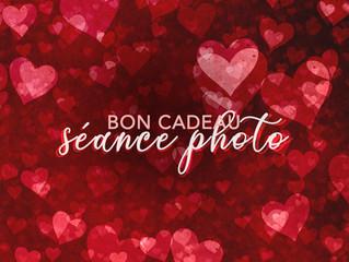 St Valentin : nouveaux bons cadeaux !