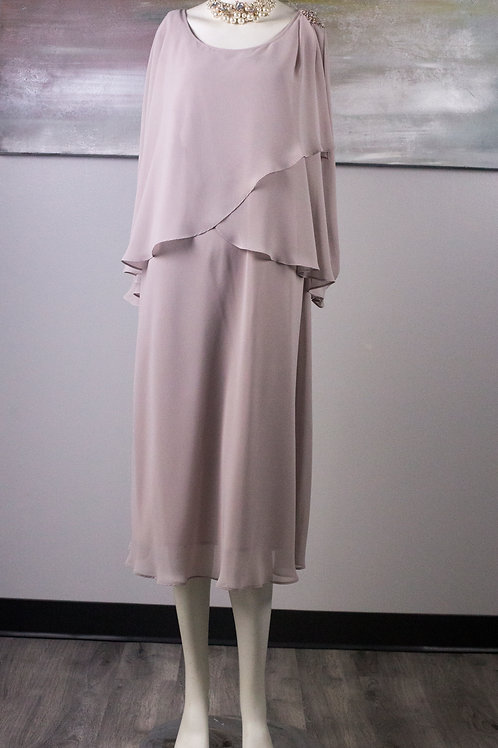 SLNY - Taupe Dress