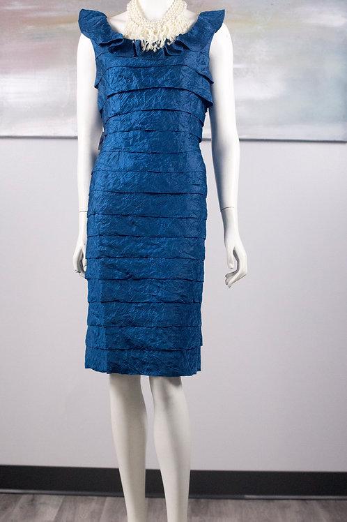 London Times Navy Blue Dress