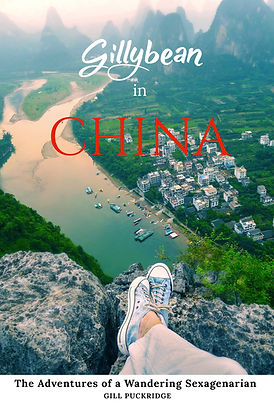Gillybean in China Fron Cover