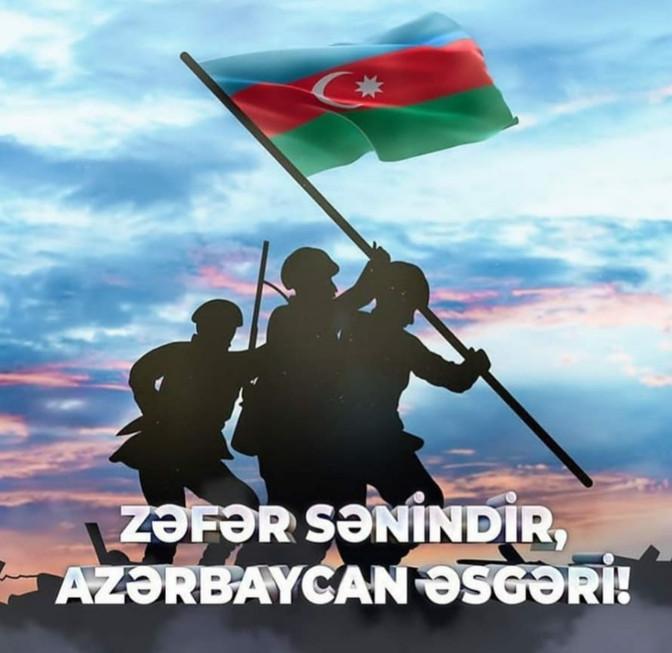 Zəfər sənindir Azərbaycan əsgəri!