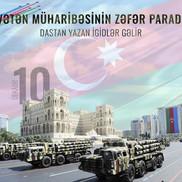 10 dekabr 2020 -Vətən müharibəsinin zəfər paradı!