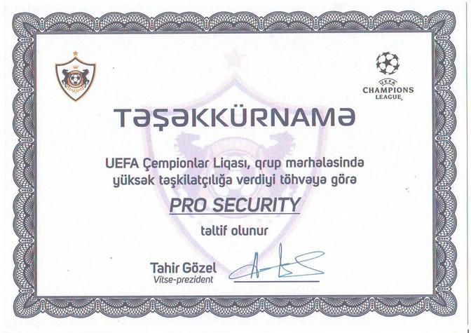 UEFA Çempionlar Liqası, qrup mərhələsində yüksək təşkilatçılığa verdiyi töhvəyə görə!